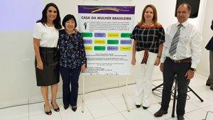 """CRCMS Prestigia Apresentação """"5 anos da Casa da Mulher Brasileira e a Redução dos Feminicídios em Campo Grande"""""""