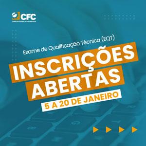 Inscrições para os Exames de Qualificação Técnica – Auditoria e Perícia Poderão Ser Feitas Até 20/01