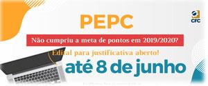 EPC – Profissionais que Não Cumpriram a Meta de Pontos em 2019/2020 Têm Até 08/06 para Apresentar Justificativa